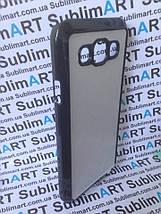 Чехол для 2D сублимации пластиковый на Samsung Galaxy E5 черный, фото 3