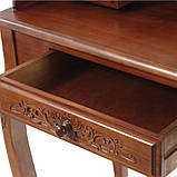 Секретер  резной коричневый в классическом стиле, фото 6