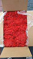Стабилизированный мох ягель. Красный 57