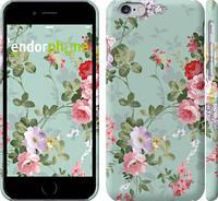 """Чехол на iPhone 6 Цветочные обои 2 """"862c-45"""""""