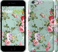 """Чехол на iPhone 6 Plus Цветочные обои 2 """"862c-48"""""""