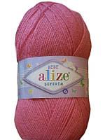 Детская пряжа(100%-акрил,100г/320м) Alize Sekerim bebe 246 (розовый)