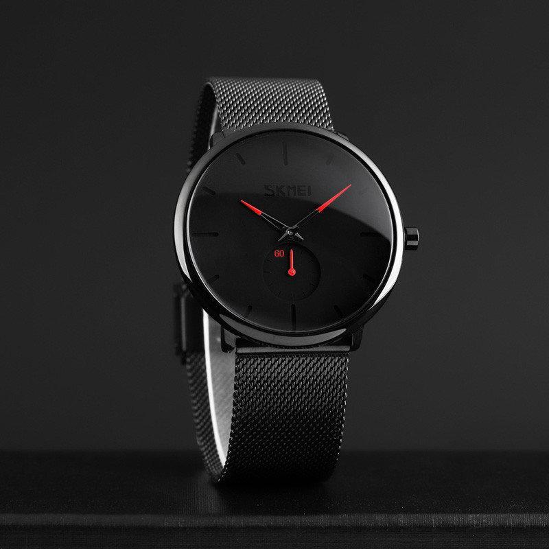Оригинальные часы Skmei 9185 ( Скмей ) Design Red /  Design black