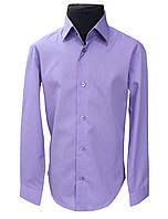 Рубашка детская фиолетовая №12 - 30