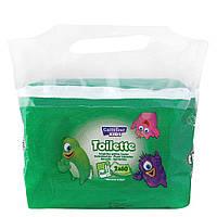 Влажная туалетная бумага Carrefour Kids Papel Higiénico Húmedo WC 2х60