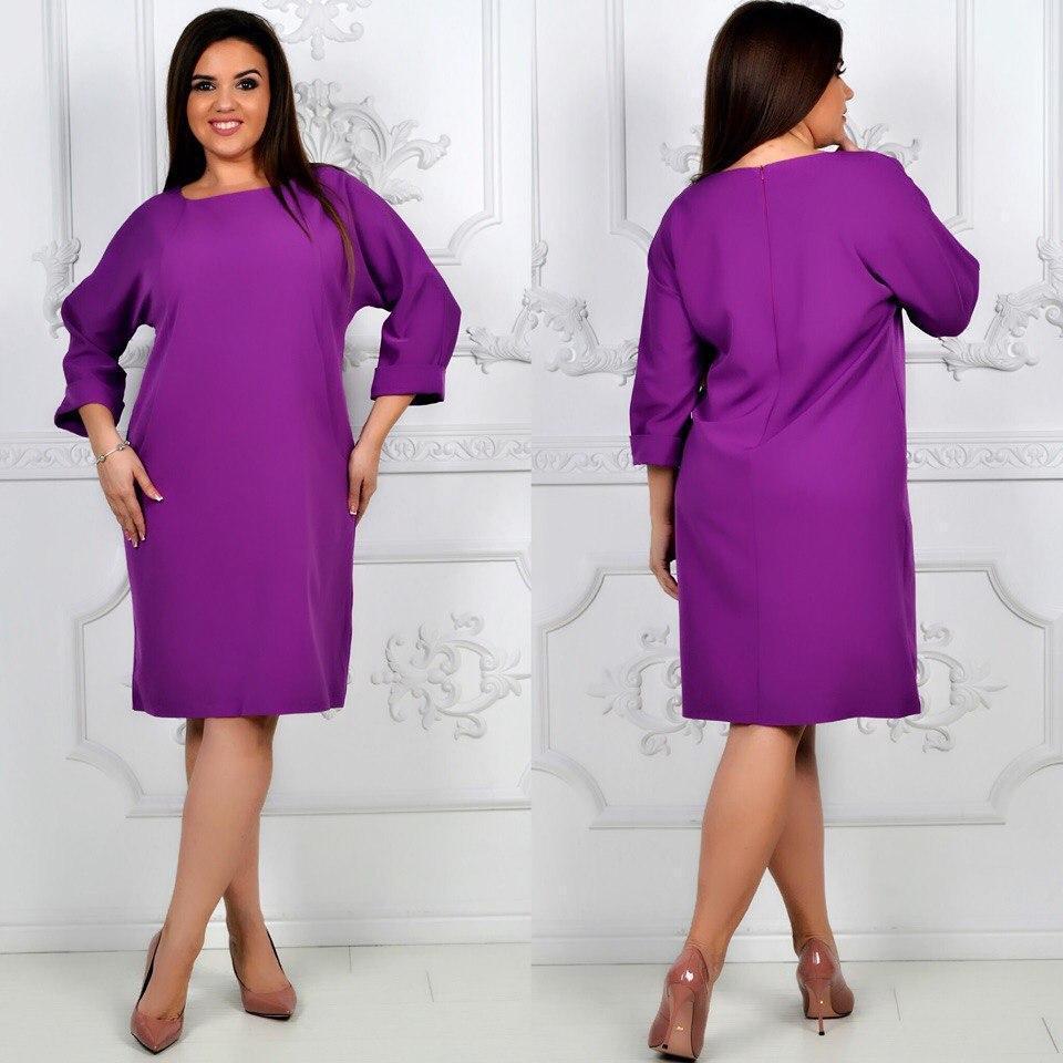 Сукня жіноча, модель 772 , ліловий