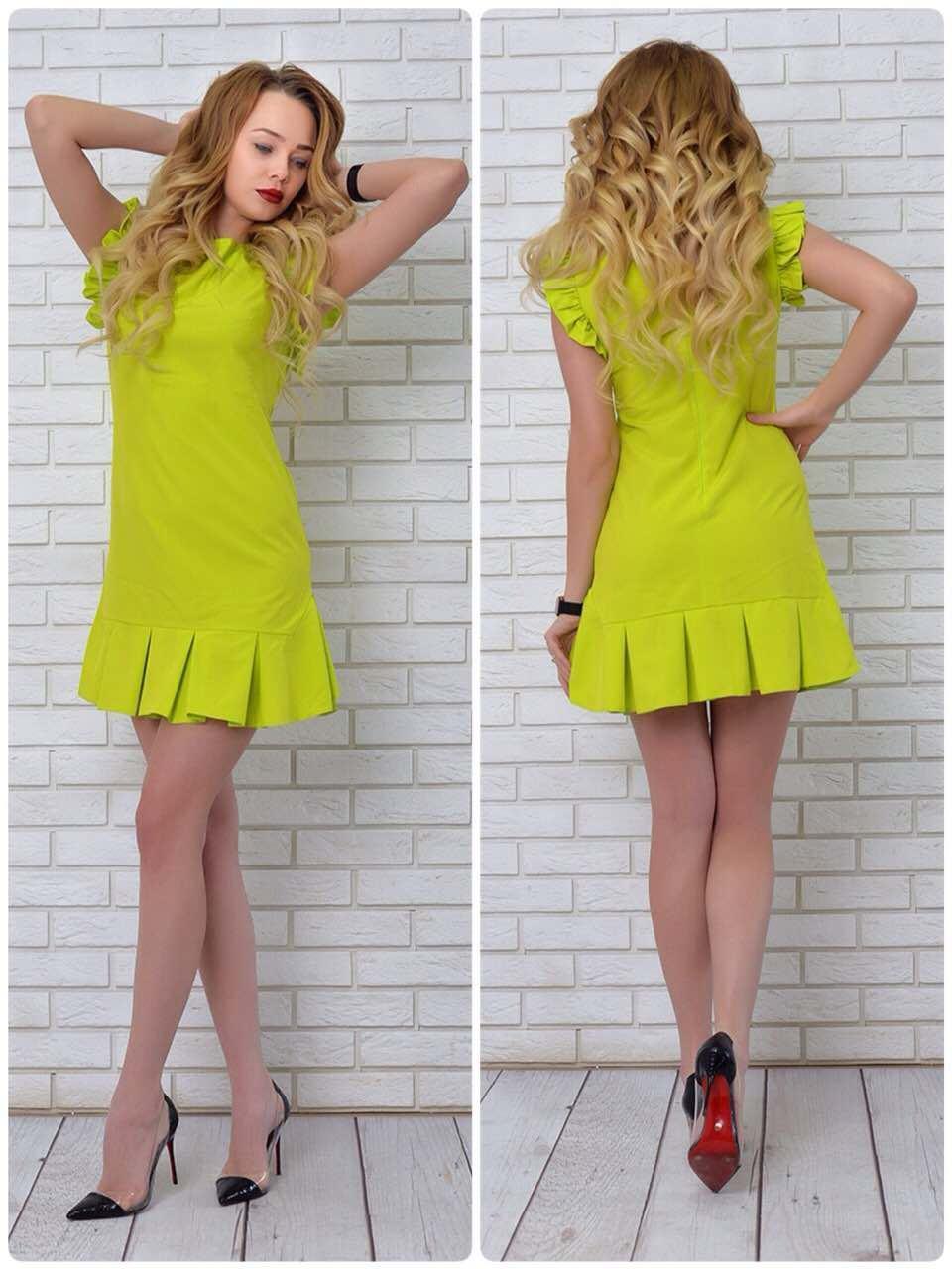 Платье 782 яблоко