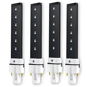 Сменная LED-лампочка 6Ватт (черная/белая)