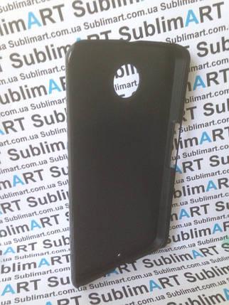 Чехол для 2D сублимации пластиковый на Motorola Nexus 6 черный, фото 2