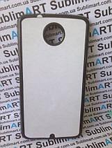 Чехол для 2D сублимации пластиковый на Motorola Nexus 6 черный, фото 3