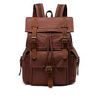 Брезентовый мужской рюкзак Augur