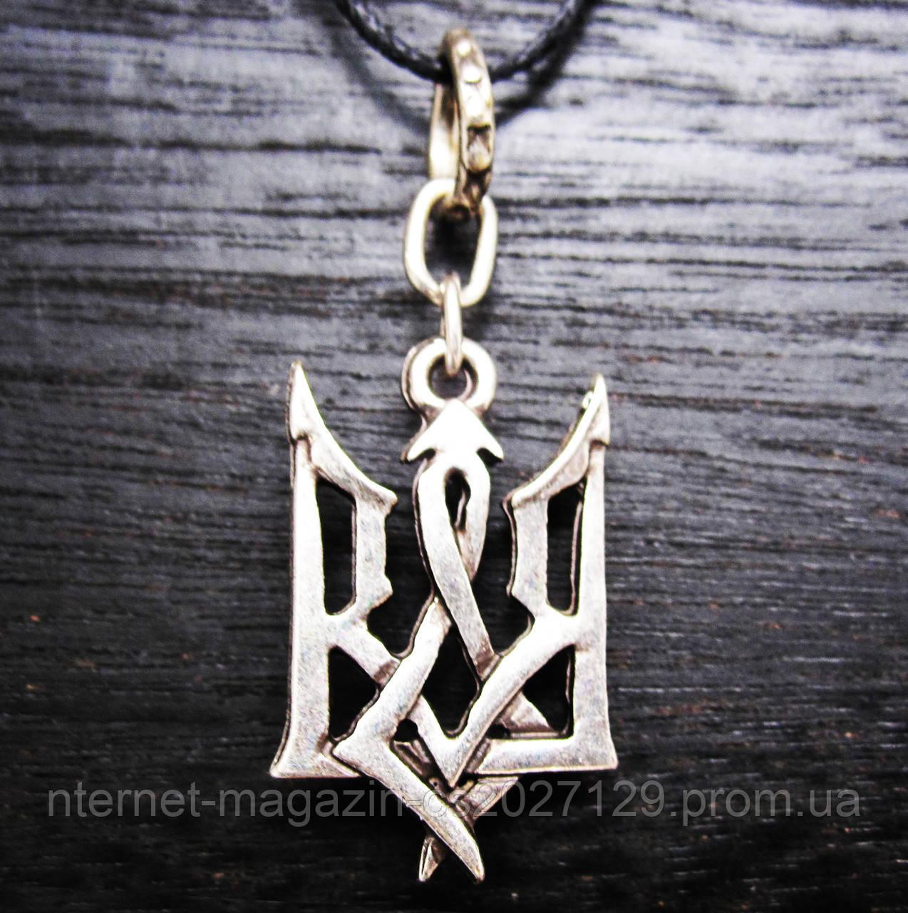 Кулон тризуб готический герб