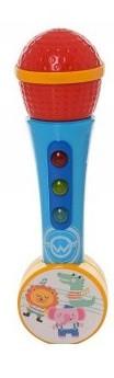 Микрофон музыкальный 846-4,16-23-6,5 см.