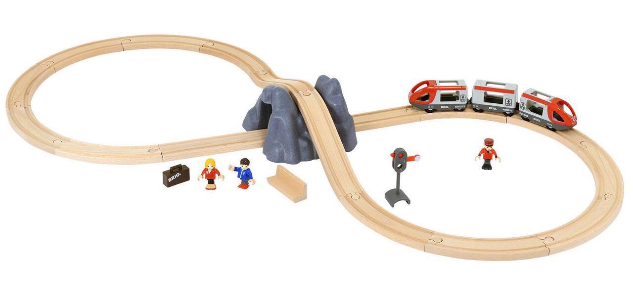 Железная дорога BRIO Стартовый игровой набор 33773