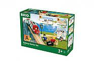 Железная дорога BRIO Стартовый игровой набор 33773, фото 6