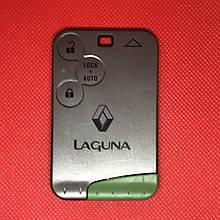 Смарт карта ключ RENAULT Laguna Рено Лагуна 3 кнопки 2001-2006 PCF7947 ID46 433Mhz