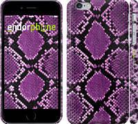 "Чехол на iPhone 6 Plus Фиолетовая кожа змеи ""1005c-48"""