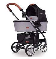Детская универсальная коляска 2 в 1 EasyGo Virage Ecco Grey Fox