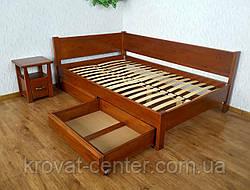"""Двуспальная кровать из натурального дерева с ящиками """"Шанталь"""", фото 3"""