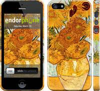 "Чехол на iPhone 5s Винсент Ван Гог. Подсолнухи ""162c-21"""