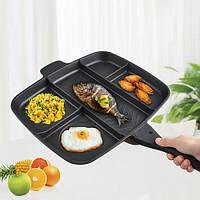 Универсальная антипригарная сковорода гриль Magic Pan 32x28 см