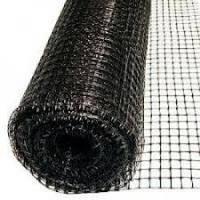 Сетка вольерная AVIARY чёрная, размер: ячейки 15х18мм, рулона 200х1м - Италия