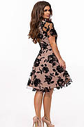 / Размер 42-44 / Женское вечернее платье миди 25929, фото 2