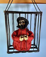 Нежить в клетке декор на Хэллоуин Halloween, фото 1
