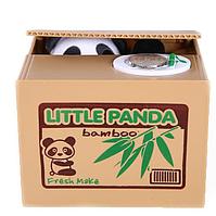 Копилка панда-воришка Коричневый (1002335)