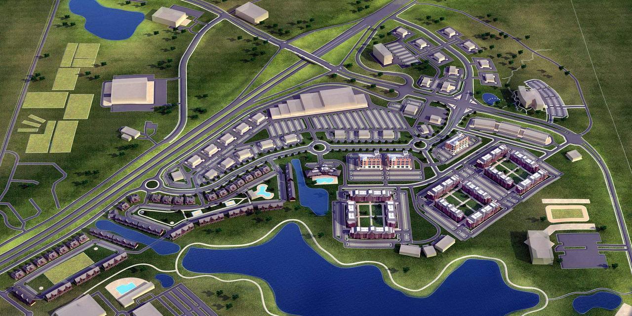 Разработка и проектирование генерального плана строительства