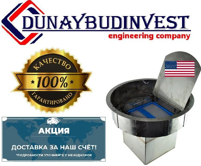Воздушный фильтр для очистки воздуха от канализационных газов Wager USA №3000 (промышленно-бытовой) под крышку