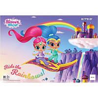 Подложка настольная Kite Shimmer Shine 42,5х29см  LP19-207 (уп.10 шт.)