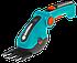 Ножницы аккумуляторные Gardena Comfort Cut (лезвия для травы + лезвия для кустарника), фото 2