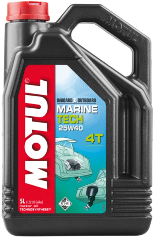 MOTUL Marine Tech 4T SAE 25W40 (5L)