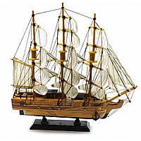 Корабль Парусник из дерева
