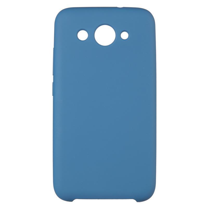 Чехол накладка силиконовый SK Soft Matte HC для Huawei P20 Lite Dark синий