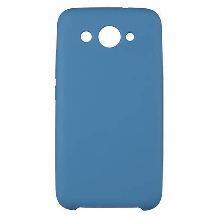 Чехол накладка силиконовый SK Soft Matte HC для Huawei P20 Lite Dark синий, фото 2