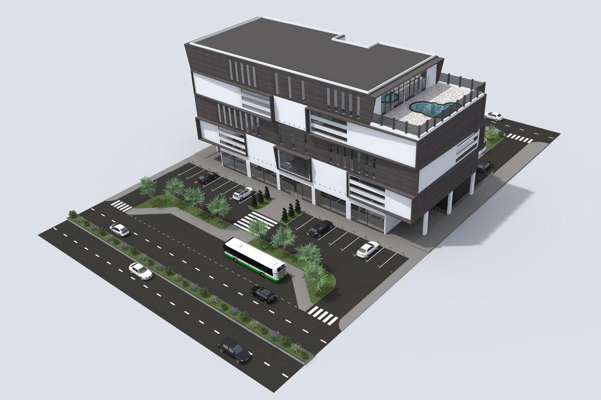 Проектирование офисных и административных зданий и помещений