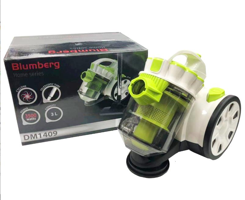 Пылесос вакуумный Blumberg DM-1409 мощность 3000 Вт контейнерный без мешка