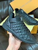Мужская осенняя обувь Луи Витон