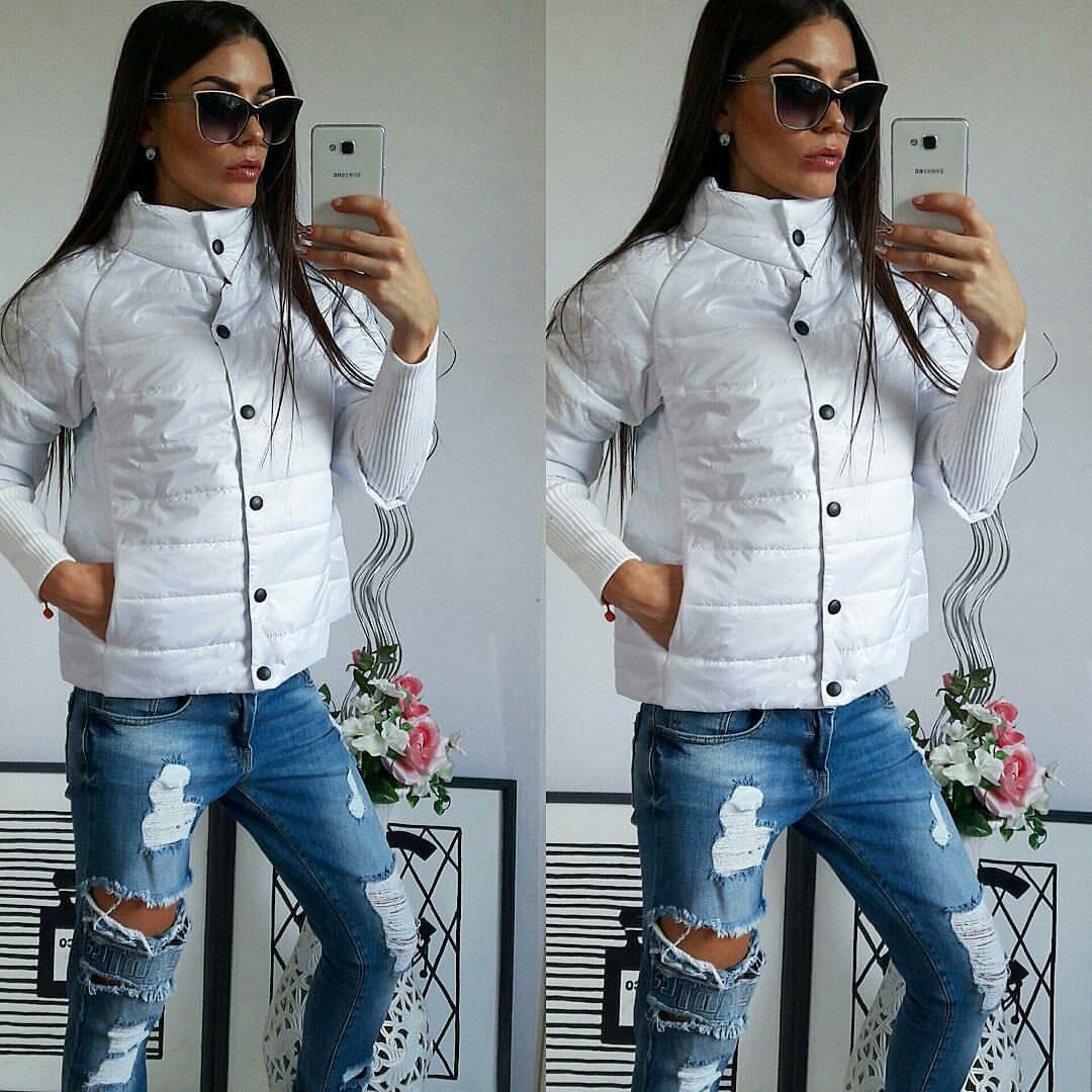 Куртка женская,  205, цвет белый
