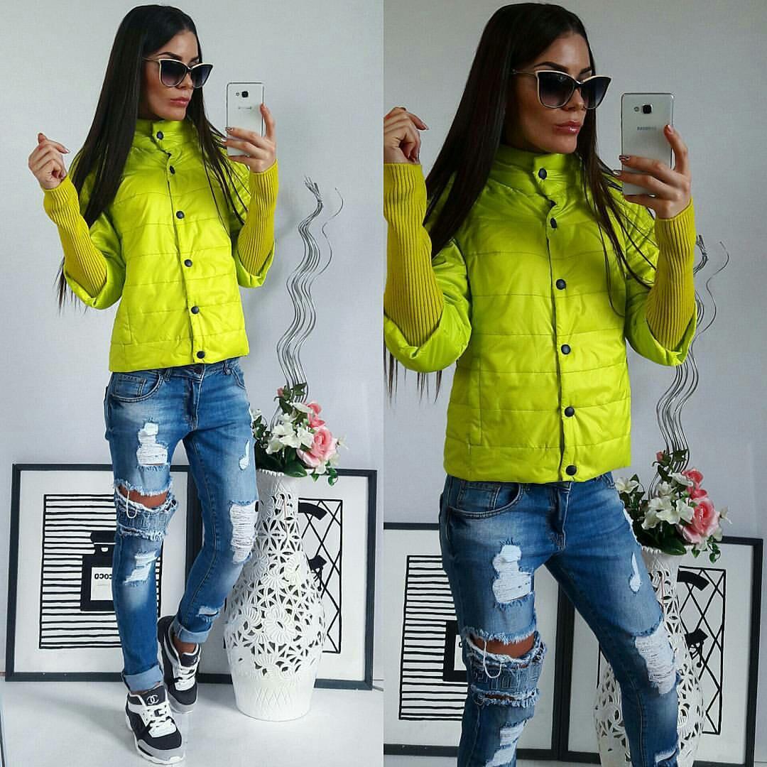 Куртка жіноча, 205, лимонний колір