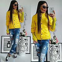 Куртка женская, 205, цвет желтый, фото 1