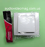 Вимикач SONGRUI внутрішній одинарний, колір білий, фото 2