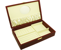 Стильный футляр для украшений 25х15.5х6 см