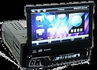Автомагнитола 1din Магнитола Pioneer 712  - USB - DVD - Bluetooth + Пульт (4x45W)