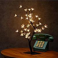 """Лампа - ночник """"Дерево вишни"""" 36LED ww"""