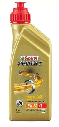 Масло моторное Castrol POWER 1 RACING 2T (Канистра 1л)
