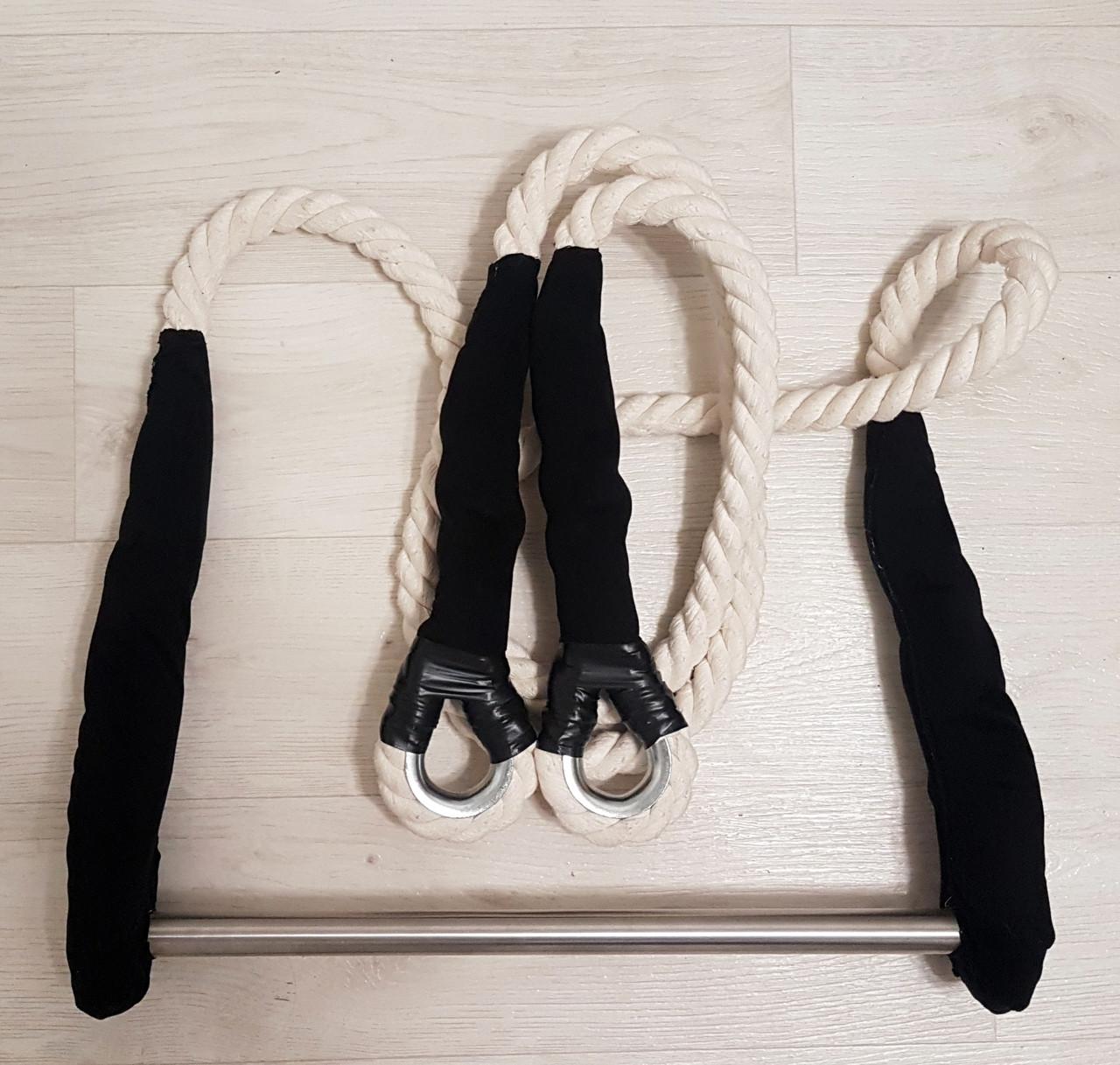 Трапеция для воздушной гимнастики статичная Белый