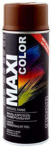 Эмаль аэрозольная Maxi Color термостойкая черная 400мл